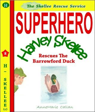 Superhero Harvey Skelllee